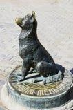 ` Бездомной собаки ` скульптуры Moneybox Стоковое фото RF