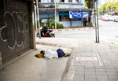 бездомно Стоковая Фотография RF