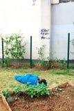 Бездомные как, Париж Стоковые Изображения