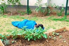 Бездомные как, Париж Стоковые Фотографии RF