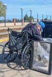 Бездомный голод Стоковое фото RF
