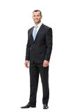 Без сокращений портрет бизнесмена Стоковое Изображение