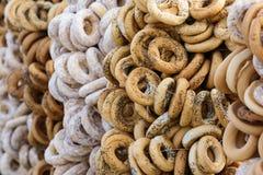 Бейгл и продукты муки стоковая фотография rf