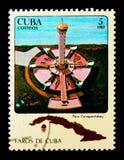 Бейй Carapachi маяка, serie, около 1983 Стоковые Изображения