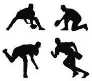 бейсболисты Стоковые Фотографии RF