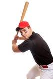 бейсболист Стоковая Фотография