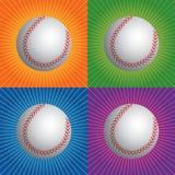 бейсболы ретро бесплатная иллюстрация