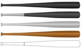 бейсбольная бита Стоковые Изображения RF