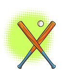 бейсбольные бита Стоковое Изображение RF