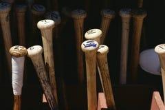 Бейсбольные бита Стоковые Изображения