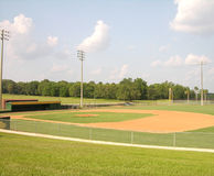 бейсбольный стадион Стоковое Изображение