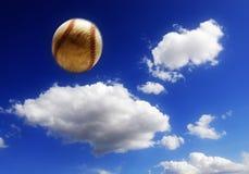бейсбол воздуха Стоковое фото RF