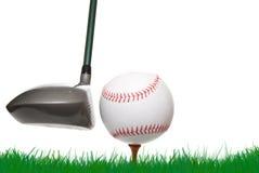 Бейсбол гольфа Стоковые Фото