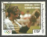 Бейсбол на Олимпиадах Стоковое Изображение