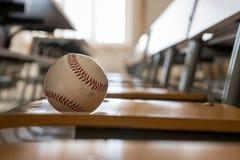 Бейсбол на стенде класса Стоковое фото RF