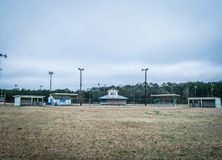 Бейсбол ожидает Стоковая Фотография RF