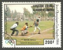 Бейсбол Олимпиад лета Стоковая Фотография RF