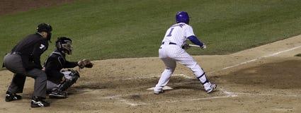 Бейсбол - Wrigley Field овсянка Batter. Стоковая Фотография RF