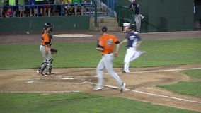 Бейсбол, игроки, команда, спорт сток-видео