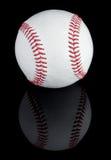 Бейсбол и отражение стоковые фотографии rf