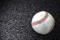 Бейсбол на темноте Стоковые Изображения RF