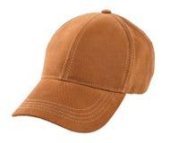 Бейсбольная кепка изолированная на белизне Стоковое Фото