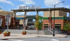 Бейсбольный стадион BB&T Стоковое Изображение RF