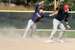 Бейсбол NCAA людей Стоковые Фото