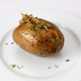 бекон испек картошку Стоковые Изображения