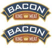 Бекон, король мяса иллюстрация вектора