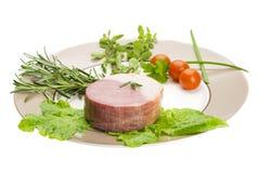 Бекон с овощами Стоковое Фото