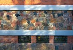 Беларусь Деталь фасада здания стоковые изображения rf