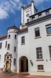 Белая башня замка в Aurich Стоковая Фотография RF