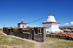 Белая башня на молить 3 Стоковое Изображение