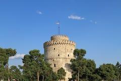 Белая башня Стоковые Изображения