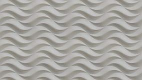 Белая безшовная волнистая каменная картина предпосылки текстуры Поверхность камня картины текстуры штукатурки гипсолита гипса без Стоковое фото RF