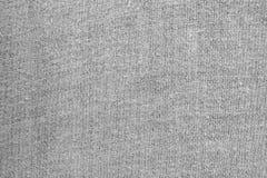 Белая вязать предпосылка текстуры шерстей Стоковое фото RF