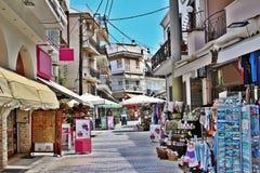Белая главная улица стоковое фото rf