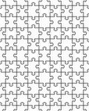 Белая головоломка, безшовная стоковые фотографии rf