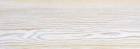 Белая деревянная планка как текстура и предпосылка Стоковые Изображения RF