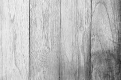Белая деревянная предпосылка текстуры стены Стоковая Фотография RF