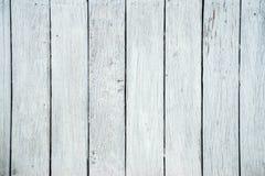 Белая деревянная текстура предпосылки Стоковое Фото