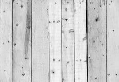 Белая естественная деревянная текстура стены Стоковая Фотография