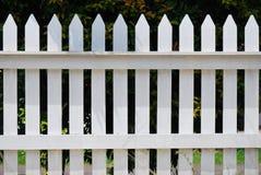 Белая загородка Стоковое Изображение RF