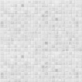 Белая или серая предпосылка стены плитки Стоковые Изображения