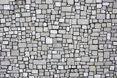 Белая каменная стена стоковые фотографии rf