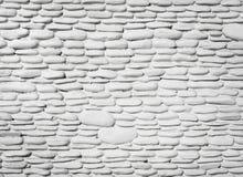 Белая картина предпосылки каменной стены Стоковые Фото