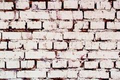 Белая кирпичная стена текстура стоковое фото