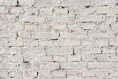 Белая кирпичная стена стоковая фотография