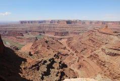 Белая оправа в национальном парке Canyonlands Юта Стоковое фото RF